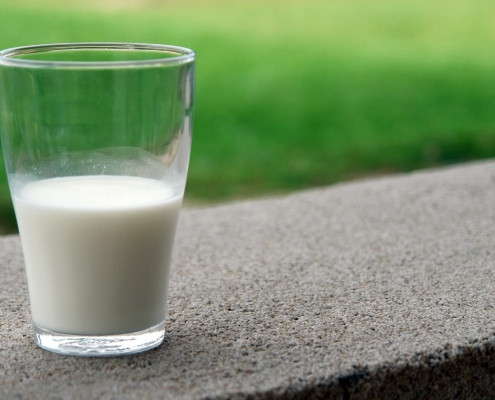 Soybean and linseed oils added to cows' diet improves the quality of milk