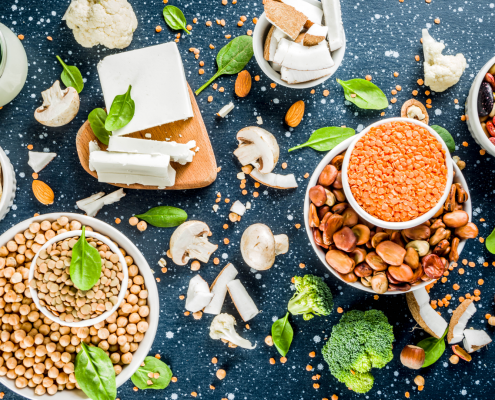 Protein-rich legumes and quinoa in the plant-based food alternatives spotlight